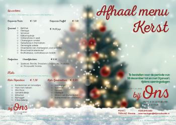 Kerstbrochure Brasserie Bij Ons